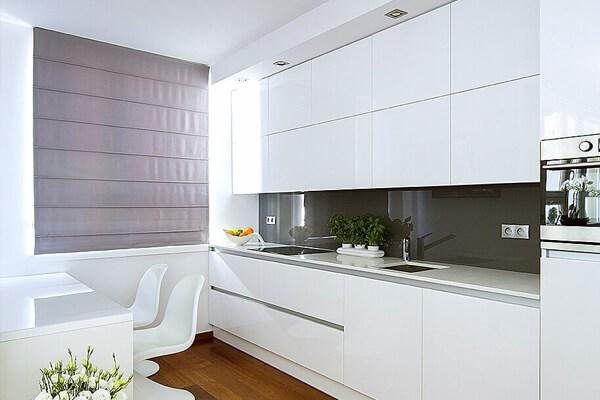 Nowoczesne meble kuchenne – Apartament 60m2 Warszawa Śródmieście (1)
