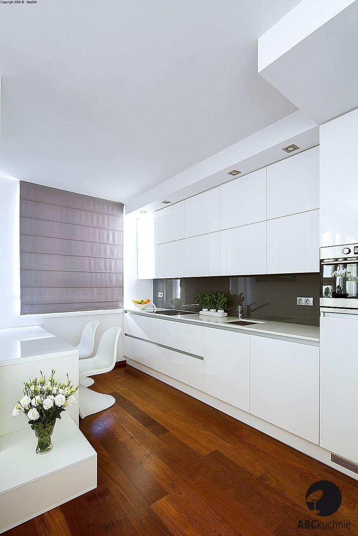 nowoczesne meble kuchenne apartament 60m2 warszawa
