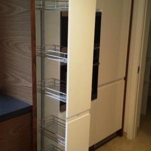 pięcio poziomowa wysuwana szafka kuchenna cargo